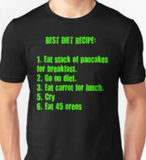 Best Diet Recipe Unisex T-Shirt