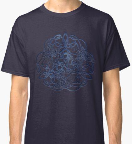 Raven Triskele Celtic Knotwork Classic T-Shirt