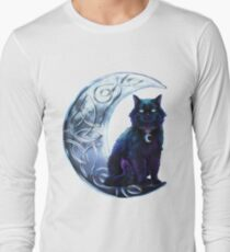 Celtic Black Cat Long Sleeve T-Shirt