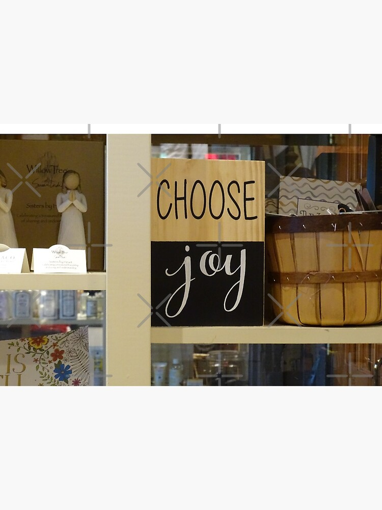 Choose Joy mask, Choose joy pin, Postive message  by PicsByMi