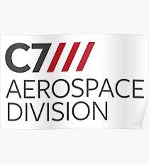 C7 Luft- und Raumfahrt Poster