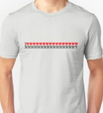 I ♥♥♥♥♥♥♥♥♥♥♥♥♥♥♥♥ NNNNNNNNNNNNNNNNY Unisex T-Shirt