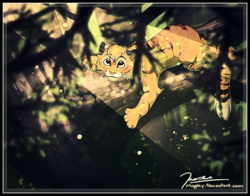 Up in the trees by LABINNAK