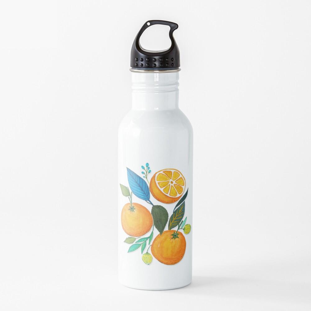 Lady Orange Water Bottle