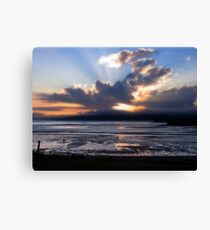 Fundy Sunset Canvas Print