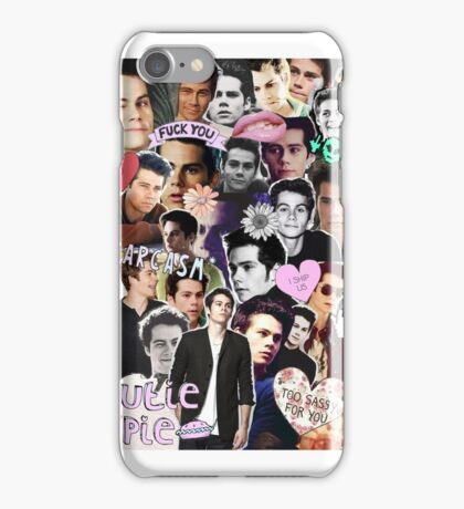 My Heart Belongs To Dylan O'Brien: Collage iPhone Case/Skin