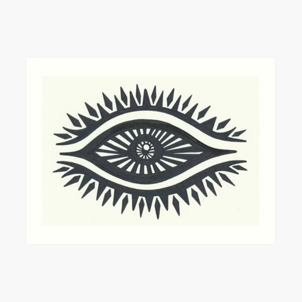 The Eye Of The Wicked Art Print