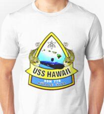 SSN-776 USS Hawaii Crest Unisex T-Shirt