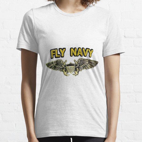 Naval Flight Officer Wings Essential T-Shirt
