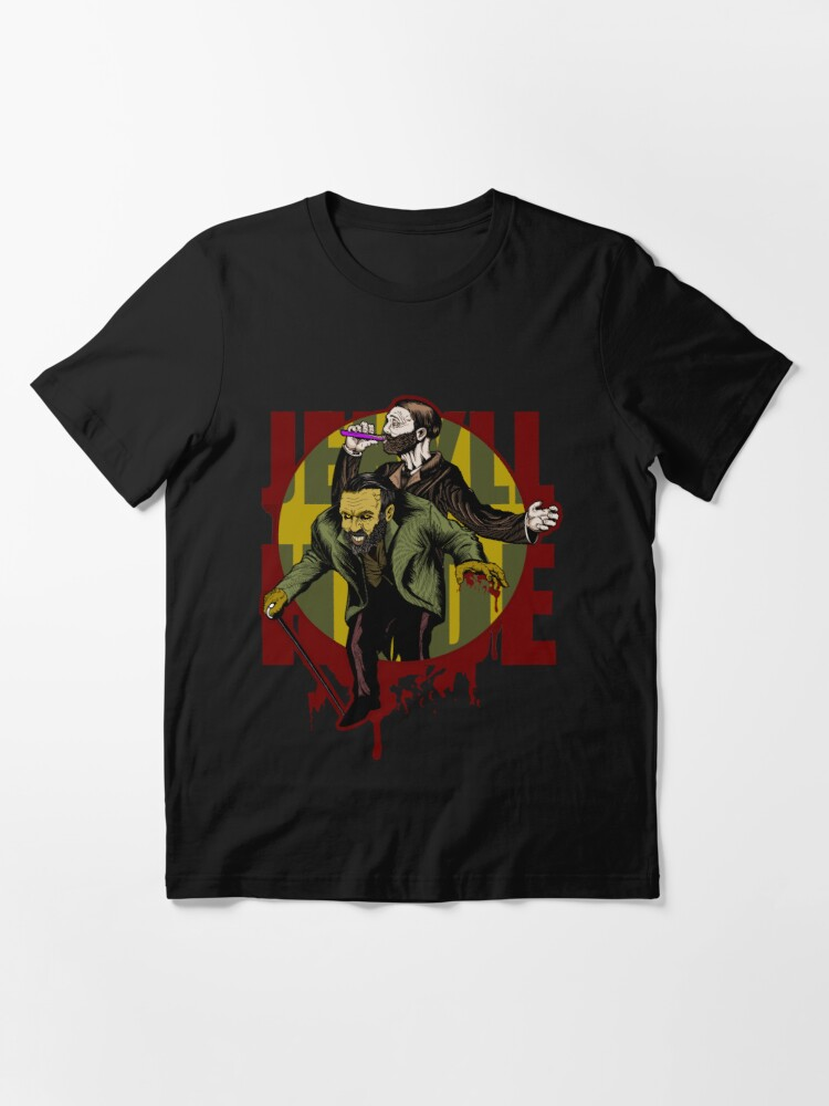 Alternate view of Jekyll & Hyde (clean) Essential T-Shirt