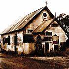 Lightning ridge church by mark thompson