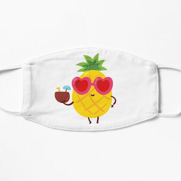 Pineapple Emoji Flat Mask