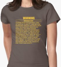 WARNING: Sherlockian in grief  T-Shirt