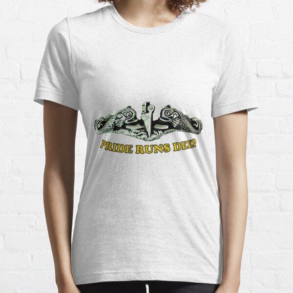 Pride Runs Deep: Submariner Dolphins Essential T-Shirt