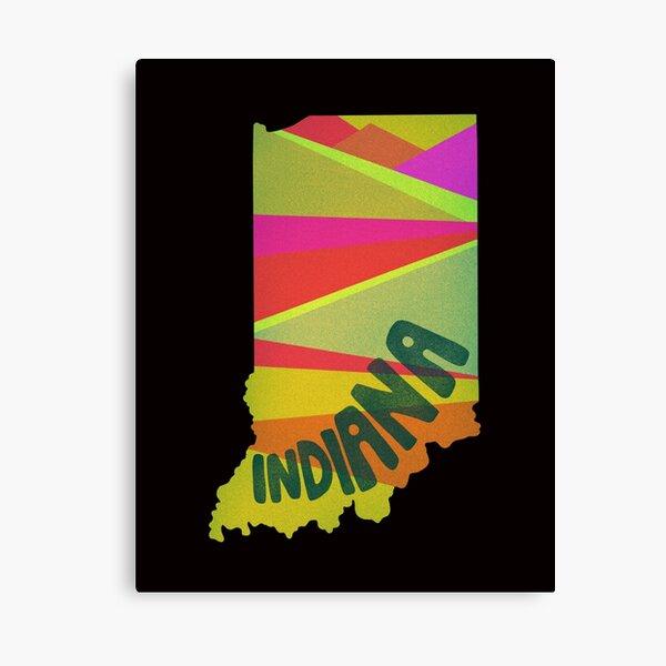 Retro Indiana Canvas Print