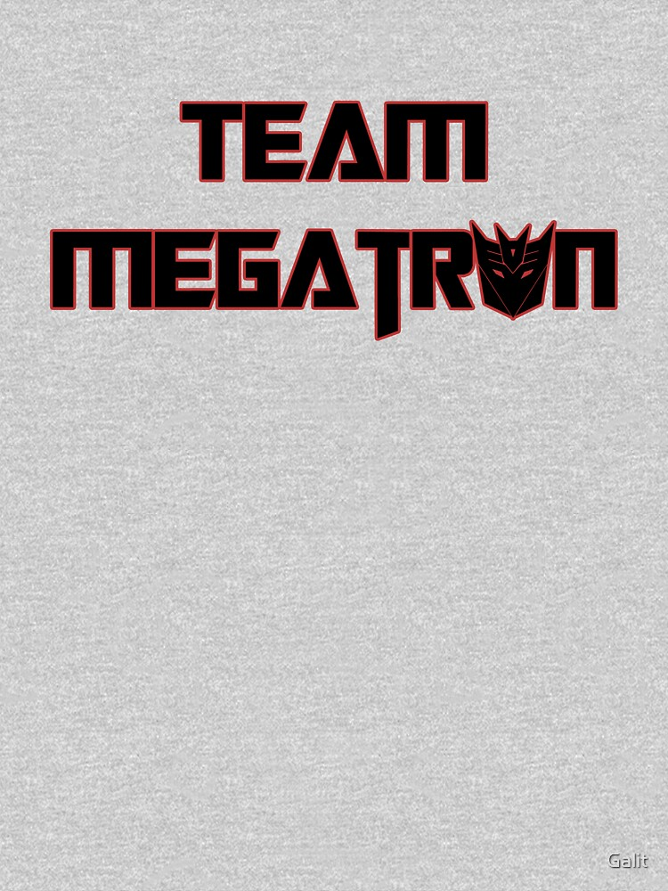 Team Megatron (black) by Galit