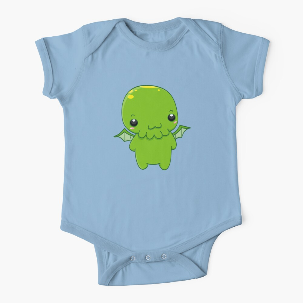 chibi cthulhu - the green monster Baby One-Piece