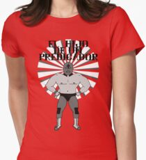 El Hijo De Un Predicador Women's Fitted T-Shirt