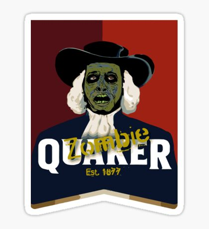 Zombie Oats Sticker
