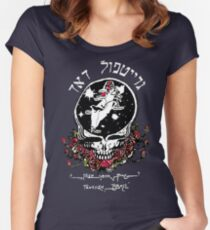 The Dead From Israel for Dark Colors Women's Fitted Scoop T-Shirt