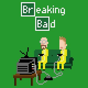 Breaking Bad - pixel art by galegshop