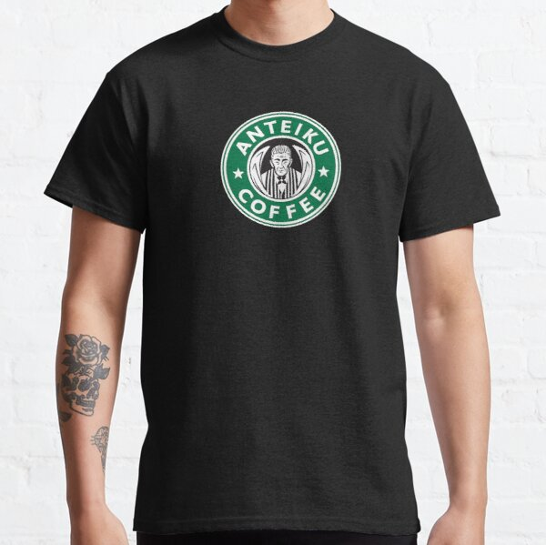 Anteiku Café Logo, Tokyo Ghoul Starbucks Parody - Yoshimura Version Classic T-Shirt