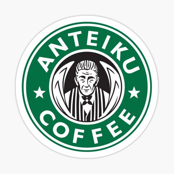 Anteiku Café Logo: Tokyo Ghoul-Inspired Design Sticker