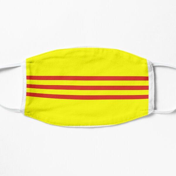 South Vietnam Flag- Designs using the South Vietnam Flag! Flat Mask