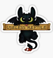 Useless Reptile  Sticker
