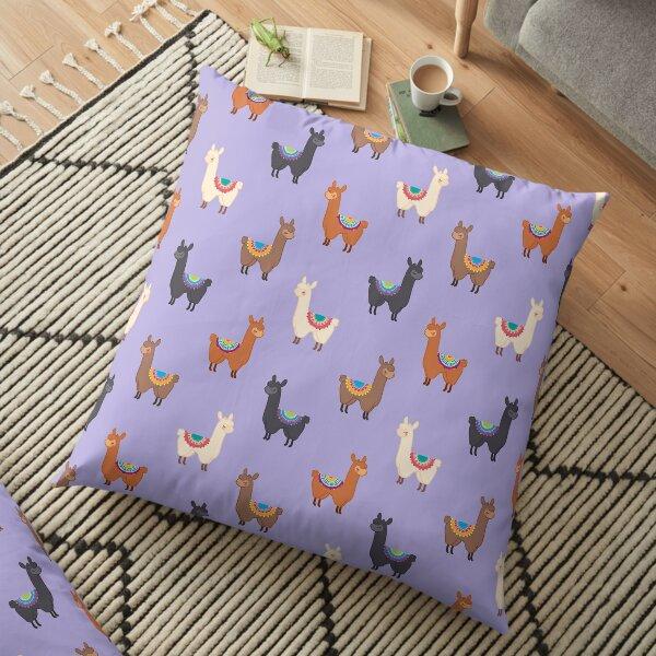 Llama Group Floor Pillow