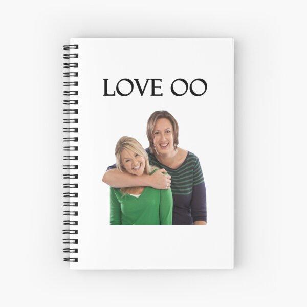 Miranda and Stevie - Love OO Spiral Notebook