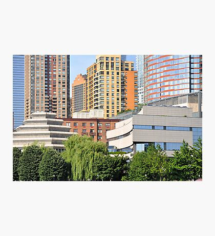 Southwest Tip Of Manhattan Photographic Print