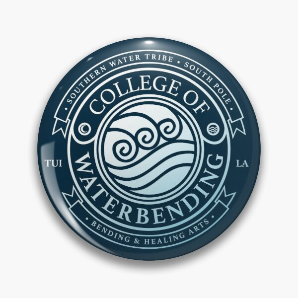 Avatar College of Waterbending, Avatar-Inspired Design Pin
