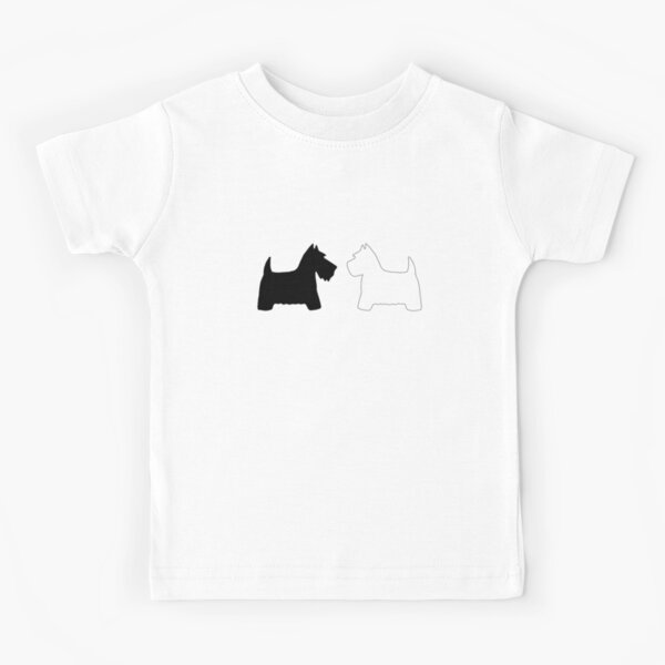 Scotties & Westies Kids T-Shirt