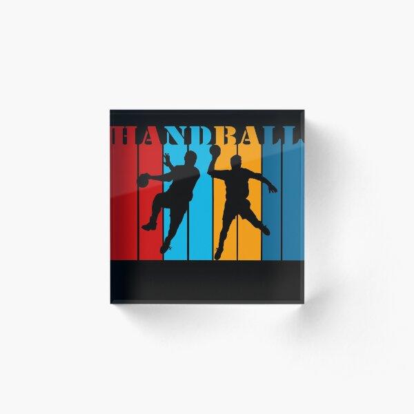 Handball Acrylic Block
