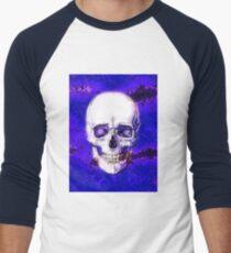 Smiling Skull Men's Baseball ¾ T-Shirt