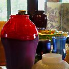 Vases on the Shelf by peterrobinsonjr