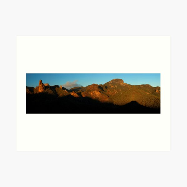 Warrumbungle National Park. Art Print