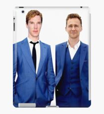 Benedict Cumberbatch and Tom Hiddelston iPad Case/Skin