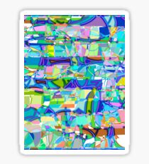 1100 Abstract Thought Sticker