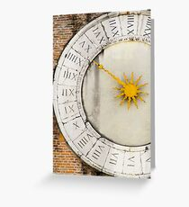 Ancient times Greeting Card