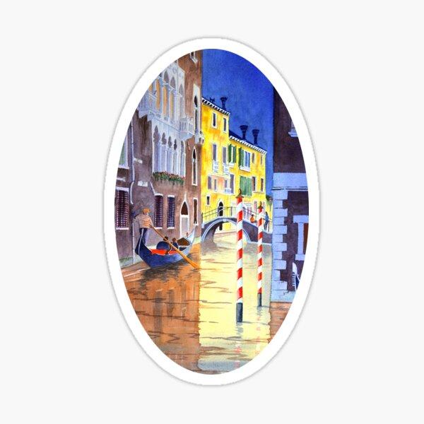 Reflections Of Venice Italy Sticker
