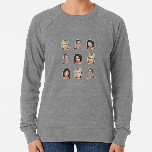 The Mugshot Housewives of New York City - For fans of RHONY and Bravo TV Lightweight Sweatshirt