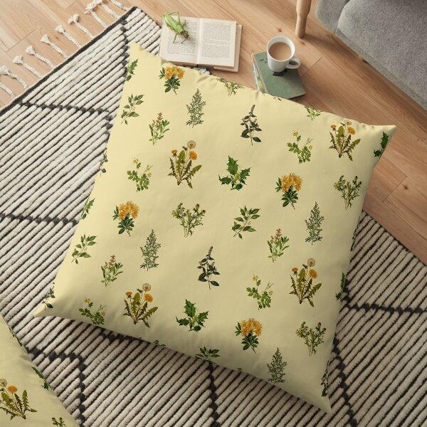 Vintage Botanical pack Floor Pillow
