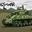 The Dogs of War: Sherman Tank by Chris Jackson