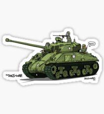 The Dogs of War: Sherman Tank Sticker