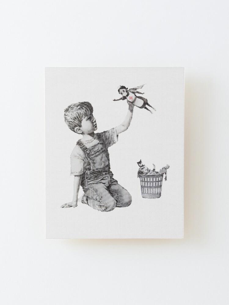 Alternate view of Game Changer - Banksy  Mounted Print