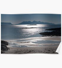 Rhum and Eigg Poster