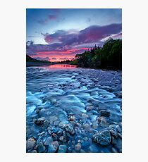 River run dawn Photographic Print