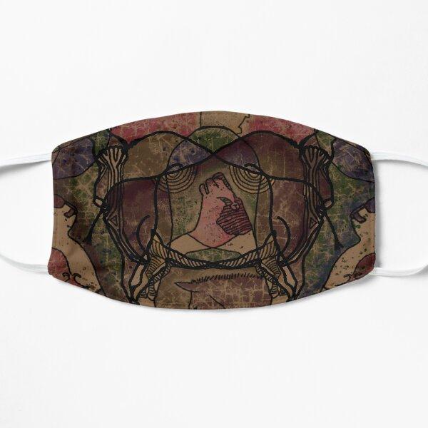 Digital Stone Age Collage 03: Chauvet Mask